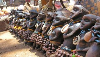 Souvenirs from the Hamer people in Omo Valley