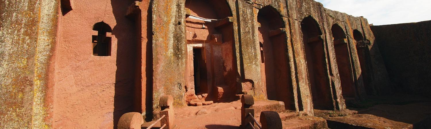 Carved Churches in Lalibela