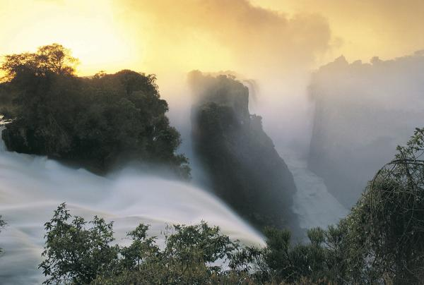 Devil's Cataract in Zimbabwe