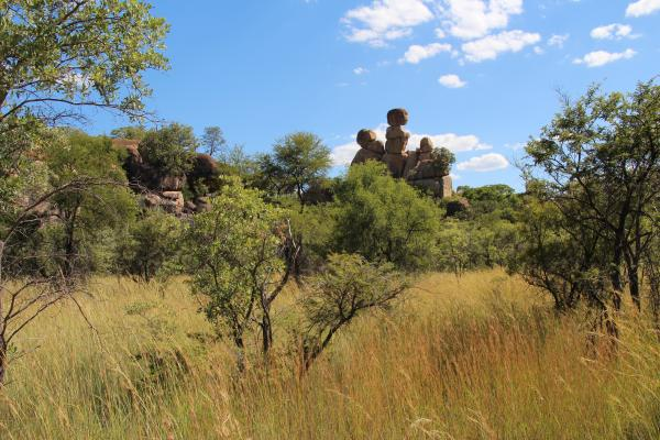 Rock formations make Matobo a unique wildlife park