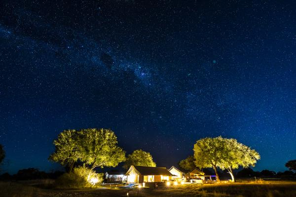 Linkwasha Camp under the stars