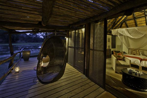Guest Chalet with wildlife viewing deck