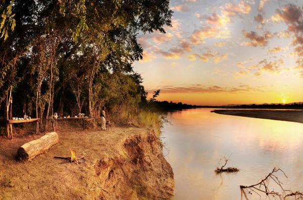 Views to the Kafue River