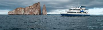 Letty ship in the Galapagos