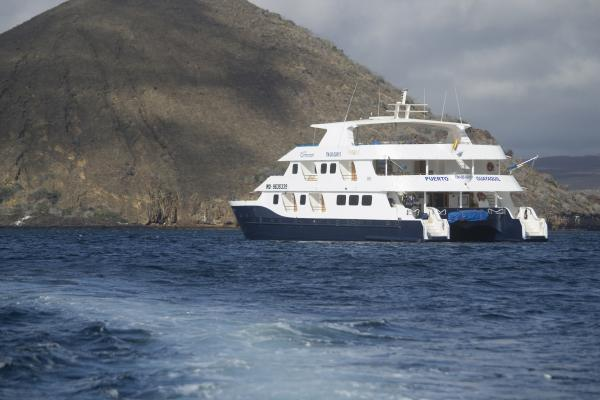 Cruise in the Galapagos on the Cormorant ship