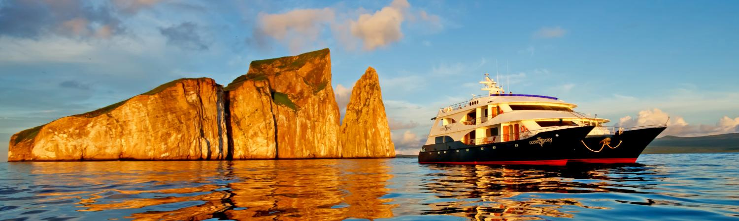 Cruise in the Galapagos on the Ocean Spray ship