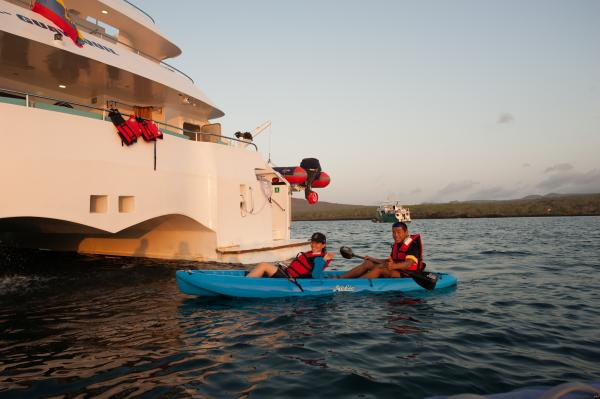 Cruise the Galapagos on the Galaxy II ship
