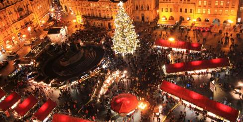 Christmas Market, Prague, festival, holiday