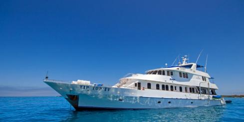 Cruise the Galapagos on the Tip Top IV Ship