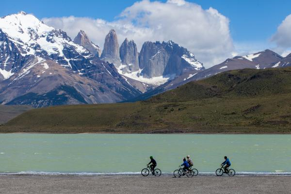 Biking in Torres del Paine National Park