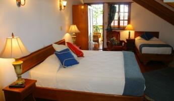 Our room -  Hotel  Bocas del Toro (photo from their website)