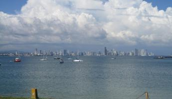 Panama City Skyline from the Causeway