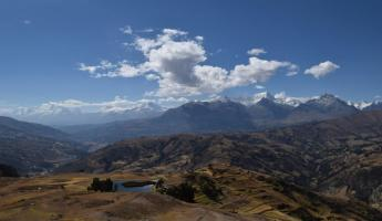 The Cordillera Blanca from the Cordillera Negra