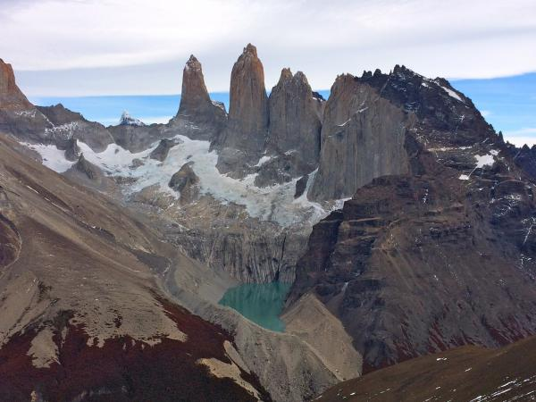 EcoCamp excursion - View from summit of Cerro Paine