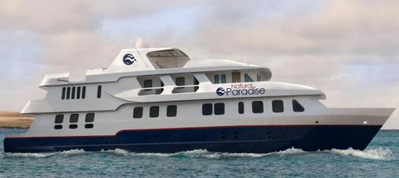 The Natural Paradise cruises the enchanted Galapagos Islands