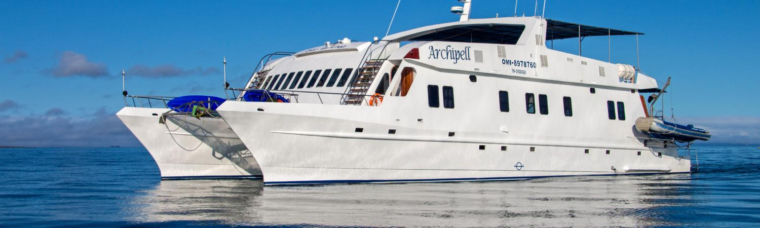Cruise the Galapagos on the Archipell ship