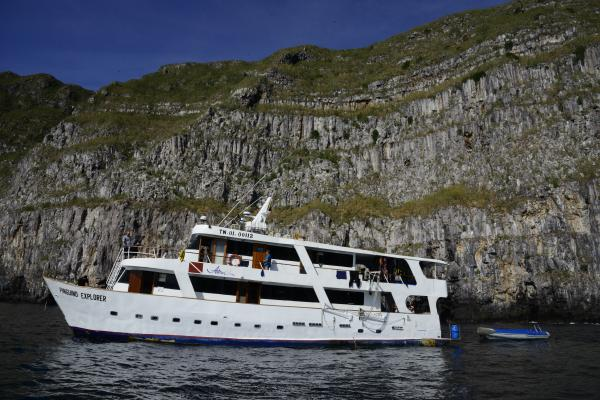 Cruise the Galapagos on the Astrea ship