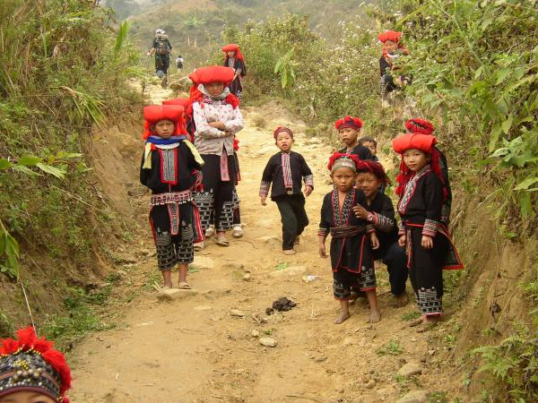 Visit the hilltribes of the Sapa Valley Region