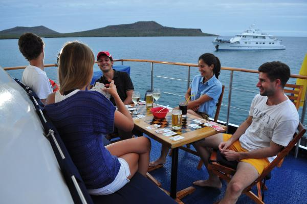 Cruise the Galapagos on the Corals