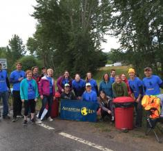 Adventure Life Missoula Marathon volunteers