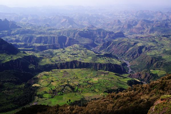 "The Simien Mountains, or the ""rooftop of Africa"""