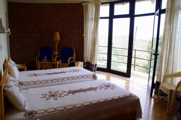 Standard room with balcony and views