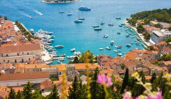 View of Hvar harbor