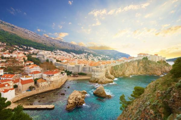 Scenic view of Dubrovnik