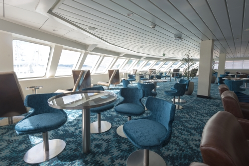 Lounge on the MS Spitsbergen