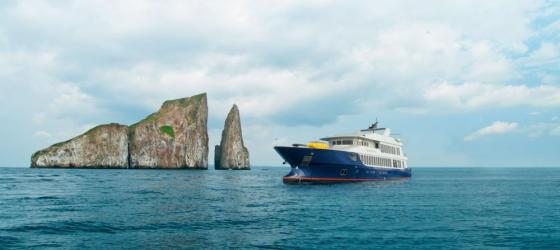 Sailing the Galapagos on the Origin ship!