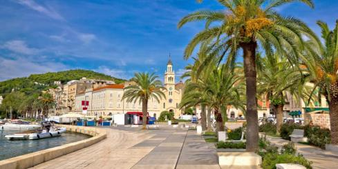 City of Split on the waterfront