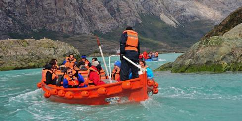 Boating excursion on the Kaweksar Route