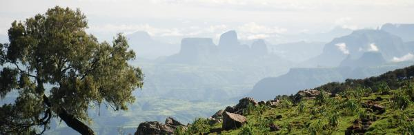 Amazing views of the Simien Range