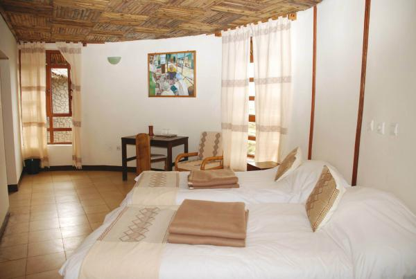 Room interior at Simien Lodge