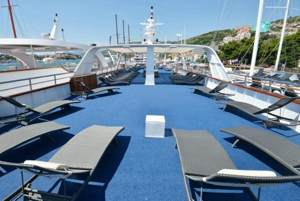 Sun Deck on the Captain Bota
