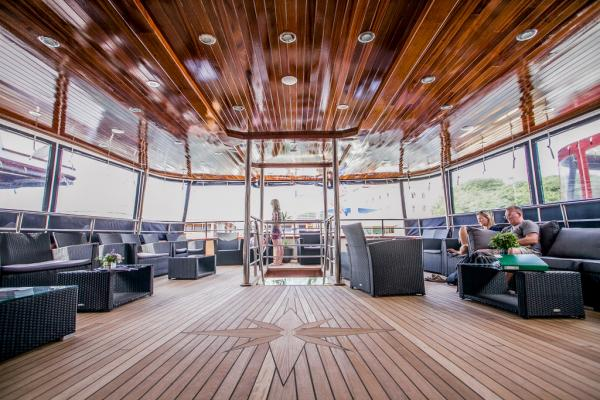Terrace on the Captain Bota