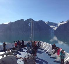 Welcome back to Canada! Sillem Island circumnavigation