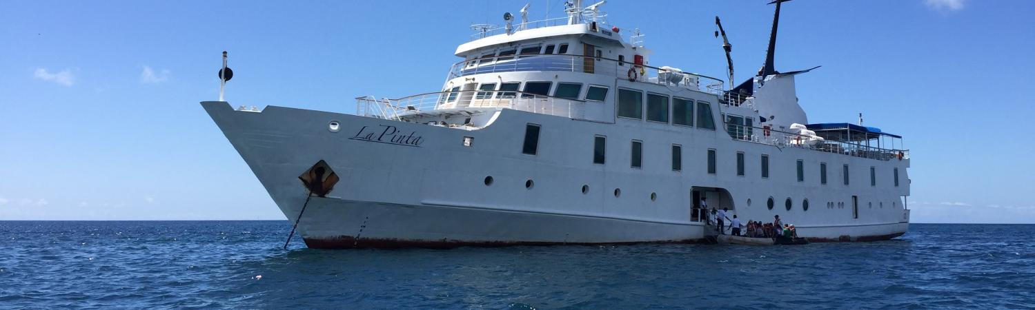 The sophisticated La Pinta Galapagos yacht