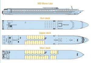 MS Mona Lisa's Deck Plan