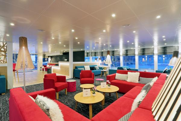 Lounge on the MS Elbe Princesse