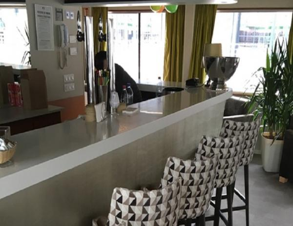 Bar on the MS France