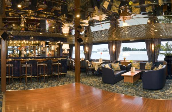 Dance Floor on the MS Camargue