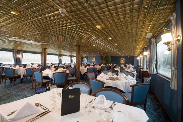 Restaurant on the MS Mistral