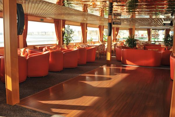 Dance Floor on the MS Princesse d'Aquitaine