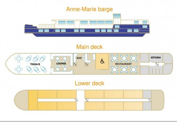 Anne-Marie's Deck Plan