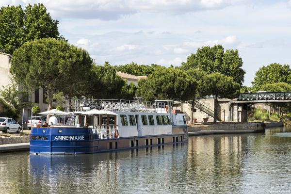 Anne-Marie on the Canal of Provence