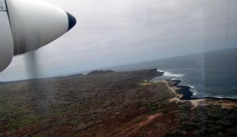 Aerial of the Galapagos