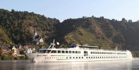 MS Douce France on the Rhine River
