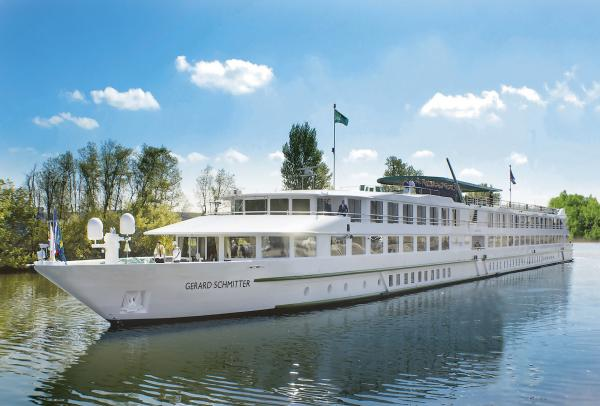 MS Gérard Schmitter cruising along the Rhine River