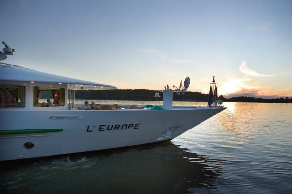MS L'Europe on the Danube River